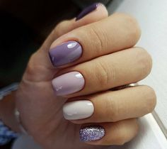 52 pretty nail art patterns decorated and simple pretty nail colors, pretty nails and spa, pretty nails woodley, pretty nail ideas, Ongles Gel Violet, Violet Nails, Nagellack Design, Nagellack Trends, Pretty Nail Colors, Pretty Nail Art, Purple Colors, Hot Nails, Hair And Nails