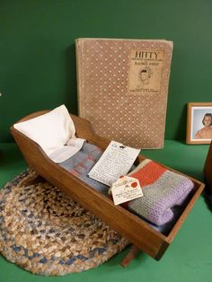 Maida Today: Incredible Vintage Wooden 1950's Hitty Doll with Accessories and Tasha Tudor Letters