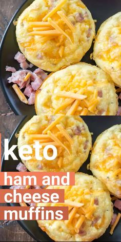 Try these Keto Ham Egg and Cheese Muffins for the ultimate low carb grab and go breakfast! At only one net carb each these muffins are perfect for keto meal prep! recipes breakfast Keto Ham and Cheese Muffins (keto meal prep) Ketogenic Recipes, Diet Recipes, Cooking Recipes, Healthy Recipes, Slimfast Recipes, Cooking Tips, Meal Prep Recipes, Zoodle Recipes, Ham Recipes