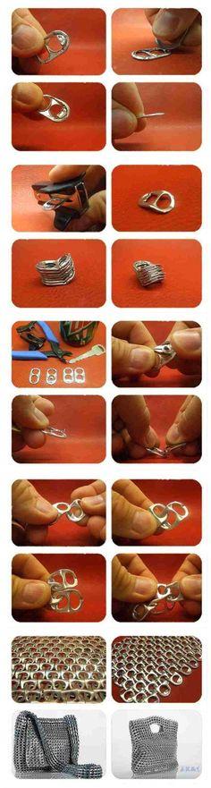 DIY Pop Ring Handbag