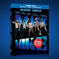 GET CHANNING TATUM'S 'MAGIC MIKE' ON DVD AND BLU-RAY TODAY!!