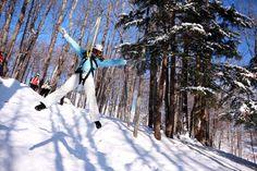 Zipline Adventure, Boyne Mountain, Michigan