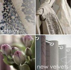 Artelux gordijnen Op de webshop staan o.a. de volgende merken; A Hous of Happiness, A.S. Creation, Artelux, Carlucce, Chivasso. Christian Fischbacker, Dekortex