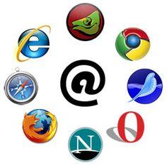 internet logo's