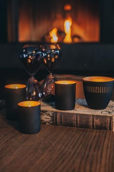 """Are you looking for the perfect gift for yourself, your family or friends? Then have a look on our """"Black & Copper"""" range! Candle Jars, Candle Holders, Candles, Modern Design, Porcelain, Copper, Range, Friends, Gifts"""