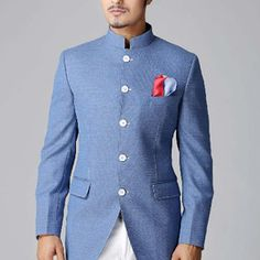 Suits for Weddings and Reception for Men Photos. Browse through thousands of Wedding Suits Photos for Inspiration and Ideas of Suits, Indo Western Suits, Bandhgala, Designer Suits, Three Piece Suits | SayShaadi.com