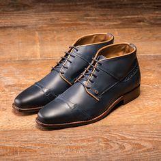 REHAB Lector Indigo #rehabfootwear #indigo #blueshoes #classiccollection #dressy #buffaloleather