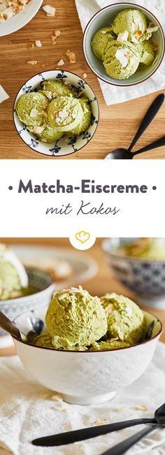 Herb, süß, exotisch, cremig - mach dich auf in neue Geschmackswelten und entdecke Eiscreme von Fernost inspiriert. Die Geheimzutat: Matcha aka grünem Tee.