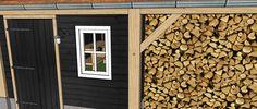 Ontwerp klassiek eikenhouten schuur.  Ambachtelijk Maatwerk Ontwerp naar wens van opdrachtgever Duurzaam en onderhoudsarm.  Vechtdal Bouwsystemen BV www.vechtdalbouwsystemen.nl