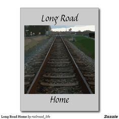 Long Road Home Postcard