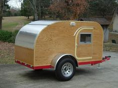 Homemade teardrop camper. | Homemade