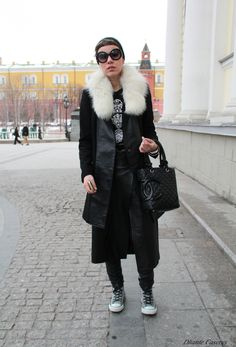 … Street Style / Mercedes-Benz Fashion Week Russia 2013.