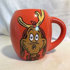 Dr. Seuss How The Grinch Stole Christmas Max Dog Coffee Mug #Vandor