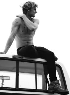 """""""Aiden, what are you doing?"""" """"Thinking and being all pensive and stuff."""" """"Come down, you look stupid."""""""
