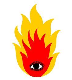 Ricardo Cavolo, 'The Fire'. Graphic Design Illustration, Illustration Art, Desenho Harry Styles, Arte Latina, Schrift Design, Frida Art, Trippy Painting, Hippie Art, Art Hoe