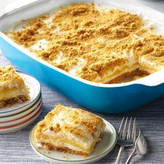 Layered Lemon Desser