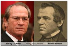 Tommy Lee Jones and Andrew Johnson