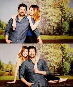 Grey's Anatomy - Derek Shepherd + Meredith Grey - my favourite TV couple!