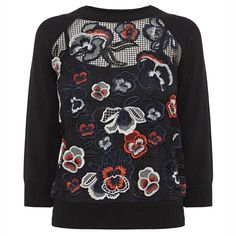 A Guide to the Best High-Fashion Fall Florals - Karen Millen  - from InStyle.com