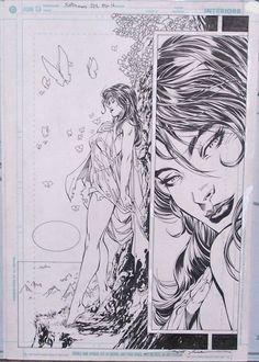 Superman 212 Page 16, in John Papandrea's Jim Lee Comic Art Gallery Room - 85576