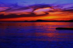 Sunset from Rosario Beach, Whidbey Island-    Photo Credit- Erik Lawrenz  Lawrenz Photography