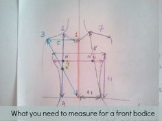 how to measure bust front
