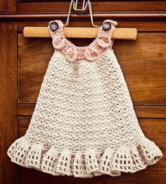 (4) Name: 'Crocheting : Halter Ruffle Dress