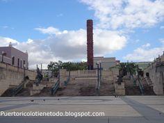 Puerto Rico lo tiene todo: Totém telúrico en el Viejo San Juan