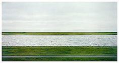 Rhein II, 1999  C-Print  81 1/2 x 140 1/2 inches; 207 x 357 cm