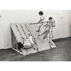 Simone Forti 'Dance constructions' - Slant board @themuseumofmodernart