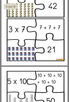 Math Multiplication Games, Math Games, Math Exercises, School Organisation, Classroom Arrangement, Life Skills Classroom, Math Sheets, Montessori Elementary, 2nd Grade Math