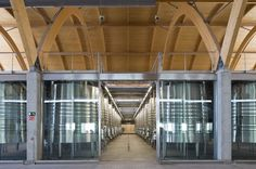 Interior de Bodegas Protos