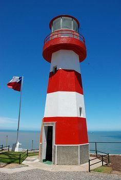 Punta Panul lighthouse [1924 - San Antonio, Valparaíso, Chile