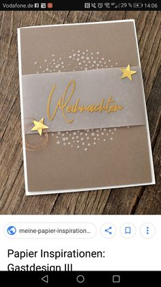 Untitled (notitle) The post Untitled appeared first on Jasmine Lambrick. The post Untitled appeared first on Kerzen ideen. Diy Christmas Cards, Stampin Up Christmas, Xmas Cards, Handmade Christmas, Vintage Christmas, Karten Diy, Diy Crafts To Do, Craft Show Displays, Scrapbook Designs