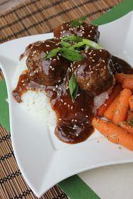 Deals to Meals: Teriyaki Sesame Meatballs