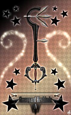 Graveyard Keyblade IV by Marduk-Kurios