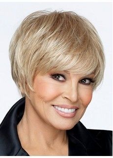 New Short Straight Hairstyle Trend 6 Inches Silver Charming Top Quality Natural 100% Human Real Wig