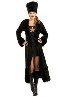 Russian Female Black Costume - Historical Costumes at Escapade UK - Escapade Fancy Dress on Twitter: @Escapade_UK