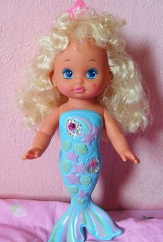 My childhood doll. Singing mermaid, want to find her again but where?!