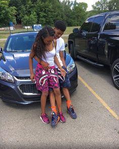 Cute Black Couples, Black Couples Goals, Cute Couples Goals, Couple Goals Relationships, Relationship Goals Pictures, Couple Relationship, Matching Couple Outfits, Matching Couples, Couple Style