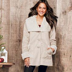 Winter Wonderland Faux Fur Coat in Misses by Avon. Shop now: https://www.avon.com/product/winter-wonderland-faux-fur-coat-in-misses-56925?rep=uneekdiva