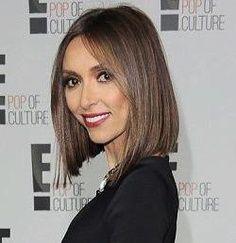 Giuliana Rancic Short Hair