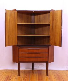 Mid Century Modern corner cabinet | For My Home | Pinterest | Mid ...