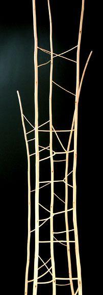 Twig sculpture