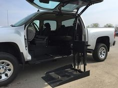 "Résultat de recherche d'images pour ""trucks with wheelchair lifts on back"">>> See it. Believe it. Do it. Watch thousands of spinal cord injury videos at SPINALpedia.com"