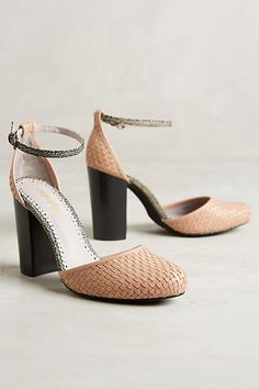 Farylrobin Teresa Heels #anthropologie  Those would look Fantastic on my feet!!!!