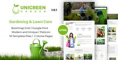 Unigreen - Gardening and Lawn Care Service HTML Template