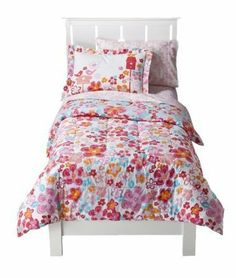 "Circo Blossom Bedding Set - Aqua/Coral - TWIN by Circo. $79.99. ·       Care and Cleaning: Machine Wash. ·       Fiber Content: 100 % Cotton; Fill Material: 100 % Cotton. ·       Includes: 1 Sham and 1 Twin Quilt. ·       Decorative Accents: Double Dobby Trim; Bed Topper Features: Quilted. ·       Dimensions: 86.0 "" L x 63.0 "" W. Includes: 1 Sham and 1 Twin Quilt   ·       Fiber Content: 100 % Cotton; Fill Material: 100 % Cotton   ·       Decorative Accents: Do..."
