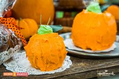 Halloween Pumpkin Bread - Use mini bundt pans to create adorable little cakes! For more great recipes, tune in to Home and Family weekdays at 10/9c on Hallmark Channel!