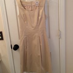 H&M dress Cream colored tank dress worn once H&M Dresses